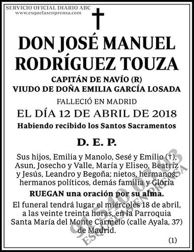 José Manuel Rodríguez Touza